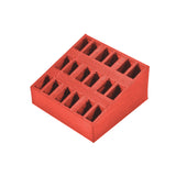 QWinOut 3D Print TPU Printing 1S Battery Storage Box Slot 12x6mm for Mobula7 Mobula 7 HD FPV Racing Drone Lipo Battery