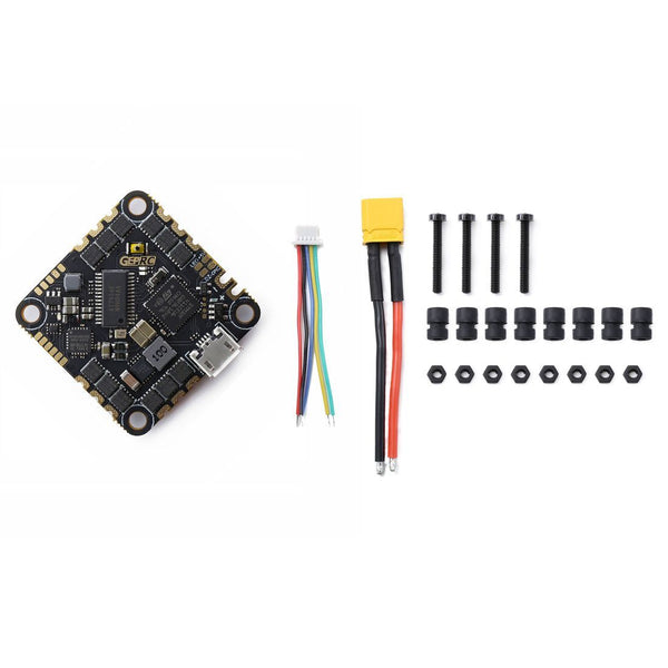 GEPRC GEP-20A-F4 AIO F4 Flight Controller 20A Blheli S 4IN1 ESC Support 2-4S Battery For RC DIY FPV Racing Drone Toothpick Whoop