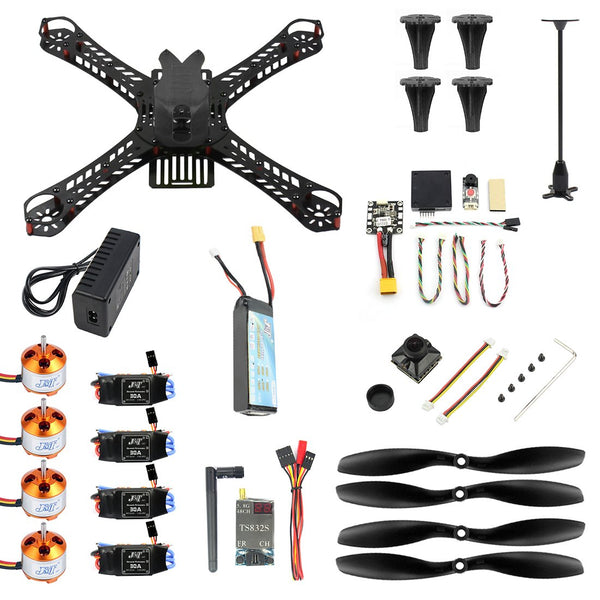 JMT J-357 310mm 360mm 380mm 3S FPV Mini Racing Drone RTF w MINI PIX GPS 30A 1400KV Brushless 1200TVL Camera RC Quadcopter DIY Unassembly Kit