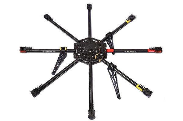 Tarot IRON MAN 1000 Octocopter 3K Carbon Fiber Frame Kit Set TL100B01 8-Axle Rack Airframe for DIY RC Drone Kit