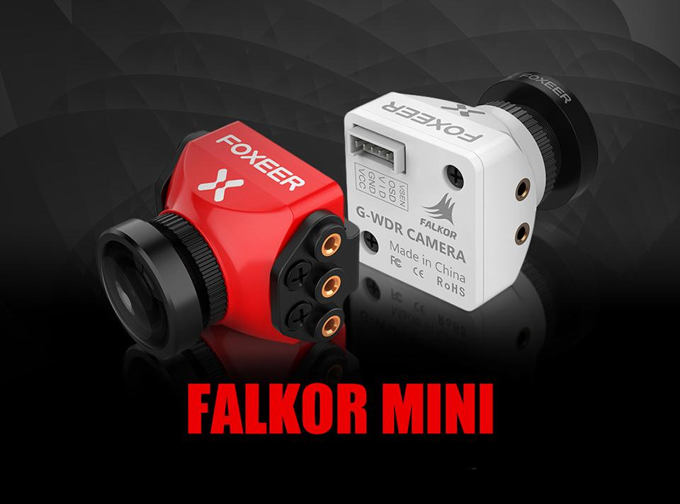 Foxeer Falkor 1200TVL Mini/Full Size Camera 16:9/4:3 PAL/NTSC Switchable GWDR for FPV Racing Drone Quadcopter Multi-rotor Aircraft