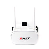 EMAX 5.8G 48CH Diversity FPV Goggles 4.3 Inches 480*320 Video Headset With Dual Antennas 4.2V 1800mAh Battery For Tinyhawk RC Drone FPV Racer