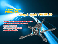 HGLRC Arrow 3 3 inch Hybrid FRAME Kit Arm 4mm for DIY FPV Racing Drone RC Quadcopter Models Spare Part