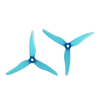 10 Pairs Gemfan 51466 5inch 3 blade/ Tri-blade Propeller CW CCW Props 20pcs Compatible Xing 2207 2208 2205-2306 Brushless Motor for FPV RC Racing Drone DIY Quadcopter Kit