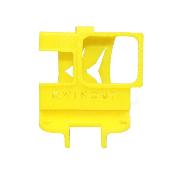 QWinOut 3D Print TPU 3D Printed Camera Fixed Mount Cover 20 / 25 / 30 Degree for GOPRO 5 6 7 Q-ONE 180 Frame Kit DIY FPV Racing Drone