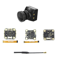 QwinOut SIF4 F4 Flytower Flight Controller with ESC VTX Foxeer Razer Mini HD 5MP FPV Camera For DIY RC FPV Racing Drone