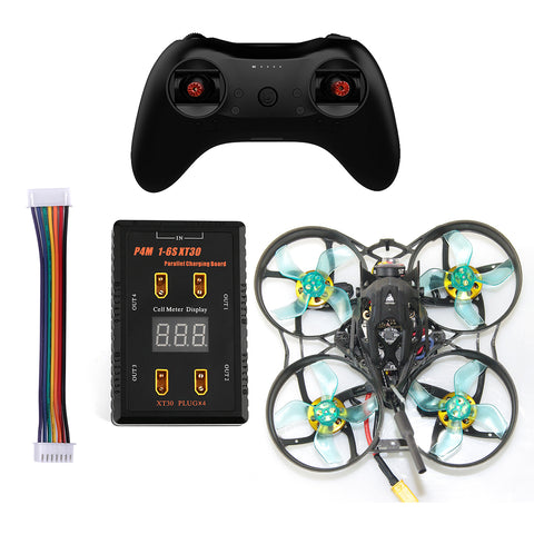 GEELANG ANGER 75X Whoop 3-4S FPV Racing Drone Quadcopter RTF 1202 6900kv 4S with T8S Remote Controller