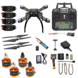 QWinOut X4M360L DIY Mini Full Kit FPV Helicopter 2.4G 10CH RC 4-Axis Drone Radiolink Mini PIX M8N GPS PIXHAWK Altitude Hold Mode Spare Part
