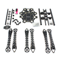 QWinOut HMF S550 RC Hexacopter Frame Kit + Landing Gear 6-axle DIY FPV Drone Frame Kit