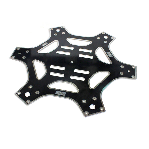 QWinOut F550 Air Frame 550mm Wheelbase Drone Frame Kit Upper and Lower Plate Board for KK MK MWC DIY MultiCopter Hexacopter UFO Helicopter