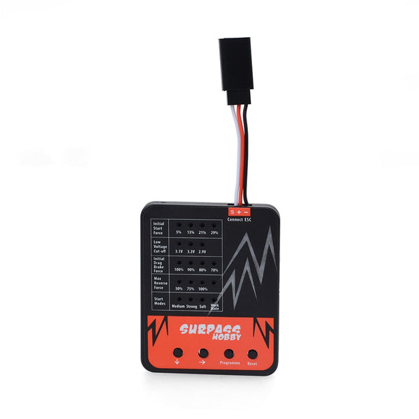 Surpass Hobby LED Programming Card for RC Toy Car 25A/35A/45A/60A/80A/120A Brushless ESC