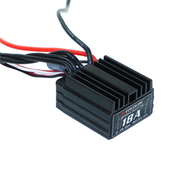 Flycolor Car ESC 35A 3S Brushless Electronic Speed Controller For Racing Remote Control Model Cars Toy Accessory