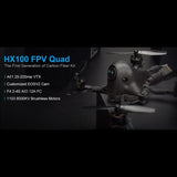 BETAFPV HX100 100mm 2-3S FPV Racing Quadcopter Carbon Fiber with F4 2-4S AIO 12A FC Runcam Nano V2 Camera OSD Smart Audio Motor RC Drone