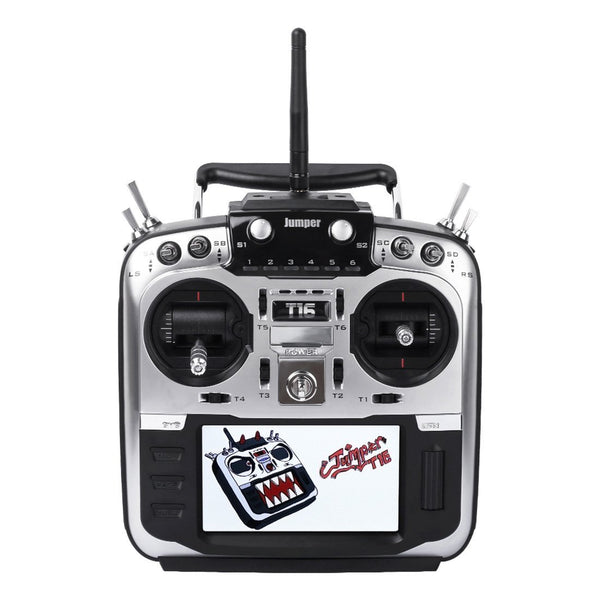 "Clearance Jumper T16 Pro Hall V2 Gimbal Open Source Built-in Module Multi-protocol Radio Transmitter 2.4G 16CH 4.3"" LCD"