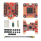 HGLRC FD F7 Dual Gyro 60A 3-6S BL32 4in1 VTX 400MW Stack F7 FC + 60A 4IN1 ESC + VTX For FPV Racing Drone Quadcopter DIY RC Hobby Models