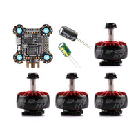 QwinOut F722 Betaflight Flight Controller 2-6S OSD 30x30mm With XING 2207 2206 2306 Brushless Motors for RC Drone FPV Racing Quadcopter