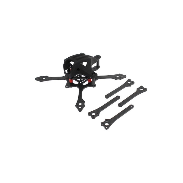HBFPV FF65 V2 65mm 2.5 Inch 4S Toothpick FPV Racing Drone Frame Kit Brushless FPV Quadcopter Rack for DIY RC Drone