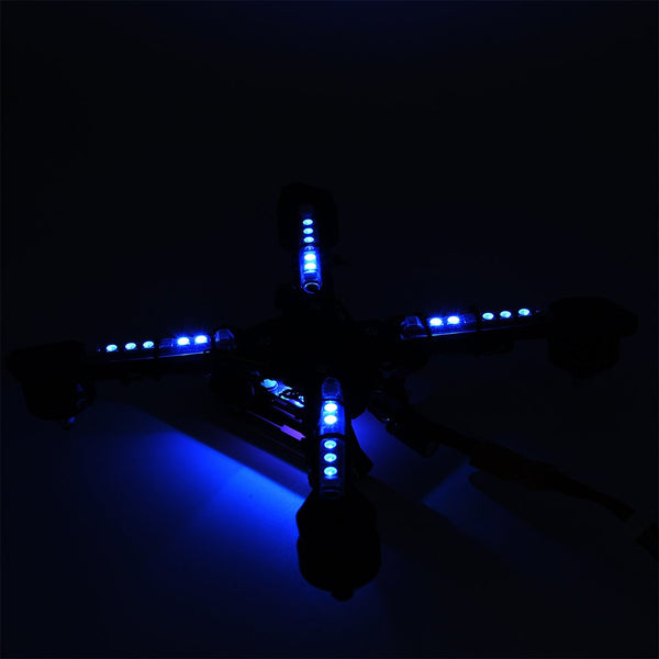 HGLRC 2-6S LED PDB with Single Row LED Strip for FPV Racing Drone Quadcopter DIY Aircraft