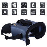 QWinOut 5.8G 40CH FPV Goggles LS-008D 4.3inch Built-in Battery For Racing Drone RC Model