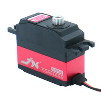 JX Servo PDI-2506MG 25g Metal Digital Miniature Servo High Performance Digital Coreless Servo CNC Aluminum Inner Shell Red Color