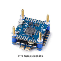 iFlight SucceX F7 V2.1 TwinG FC with SucceX 60A V2 Plus BLHeli_32 DShot1200 4-in-1 ESC FPV flytower system stack for FPV drone