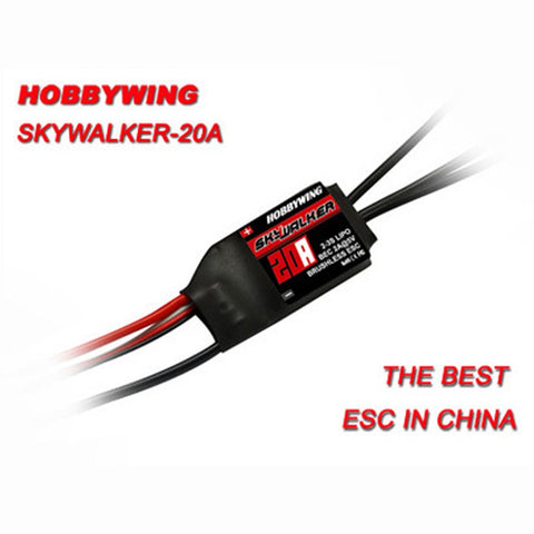Hobbywing Skywalker 15A 20A 30A 40A 50A 60A 80A ESC Speed Controller With UBEC For RC Airplanes Helicopter