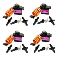 5/10pcs lot Mitoot MG90S Metal gear Digital 9g Servo SG90 For Rc Helicopter pPlane Boat Car MG90 9G