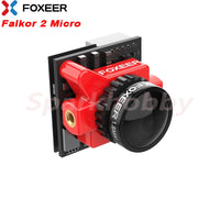 Foxeer Falkor 2 Micro 1200TVL NEW FPV Camera 16:9/4:3 G-WDR 1.8mm Lens PAL/NTSC  System 5-40V Input Voltage for RC Drone Camera