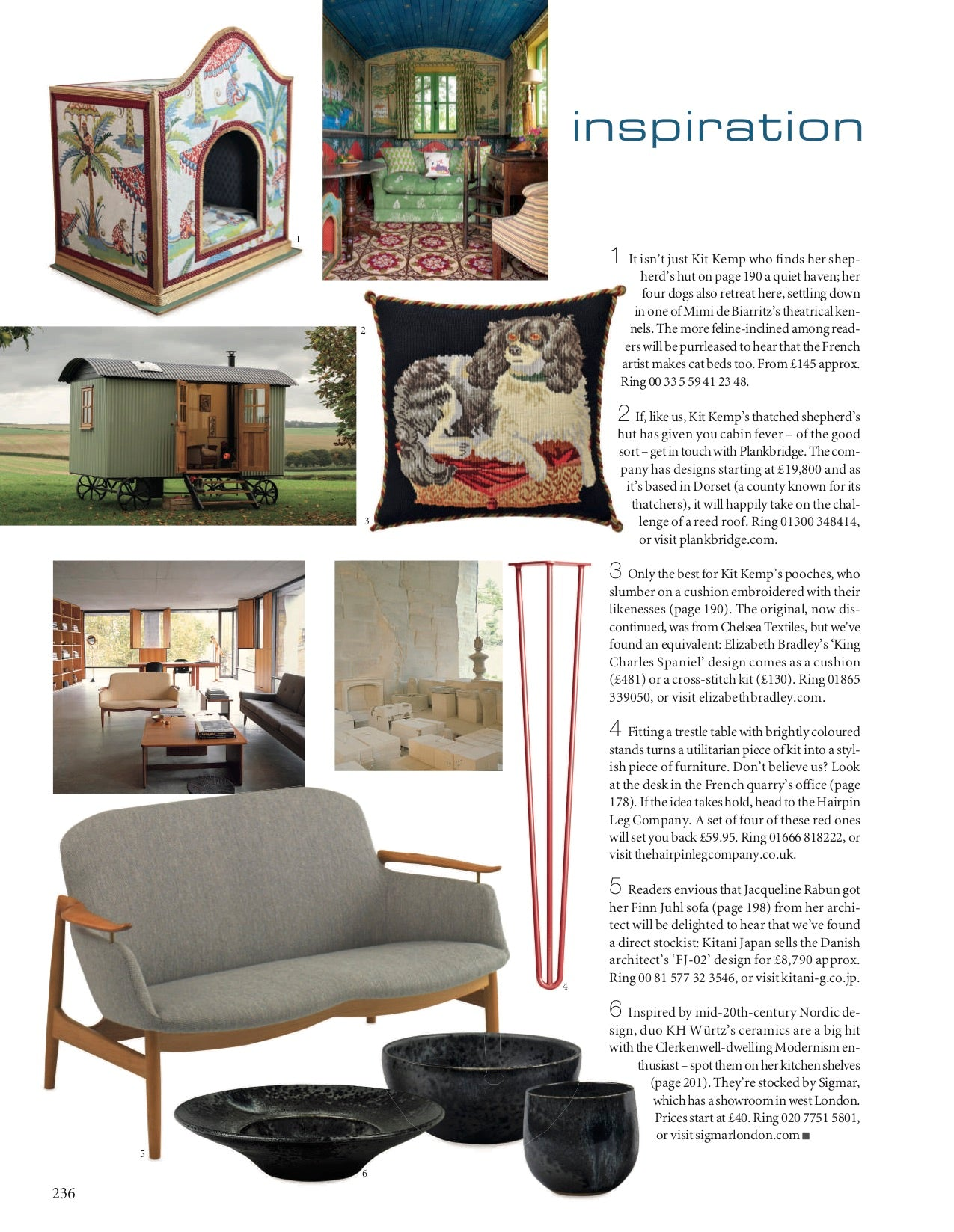 Elizabeth Bradley Design As Seen In The World of Interiors Magazine