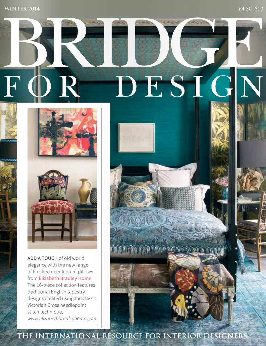 Elizabeth Bradley featured in Bridge for Design Magazine