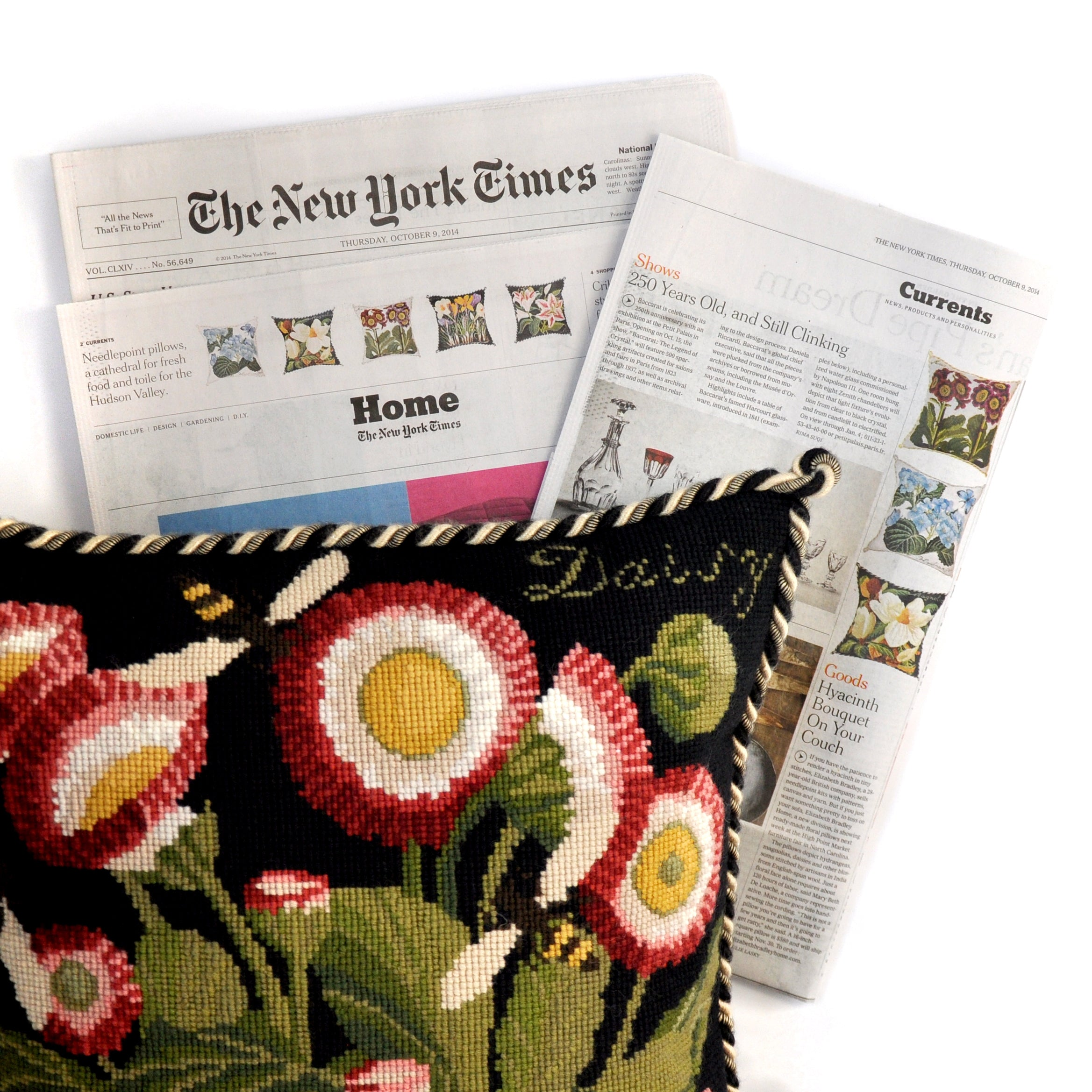 Elizabeth Bradley Kits Featured in The New York Times Newspaper
