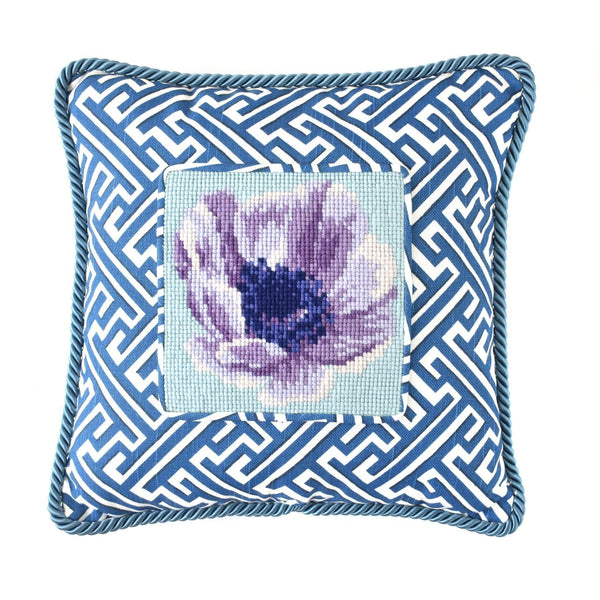 Anemone Mini Kit Needlepoint Kit Elizabeth Bradley Design