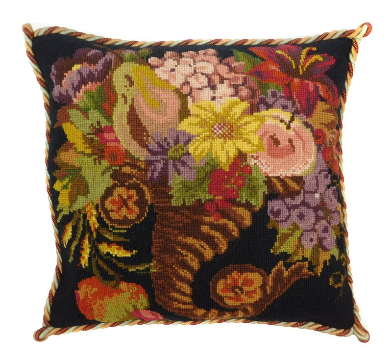 Autumn Cornucopia Needlepoint Kit Elizabeth Bradley Design