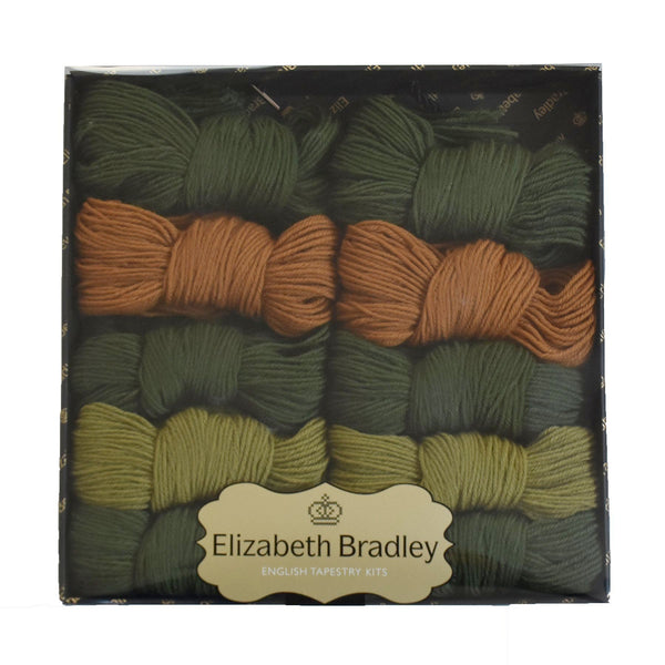 Bell Pull Border Joining Kit Carpet Border Elizabeth Bradley Green