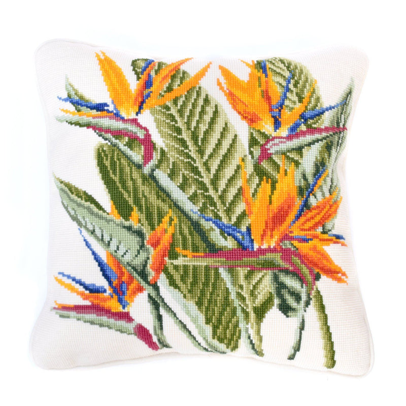 Bird of Paradise Needlepoint Kit Elizabeth Bradley Design
