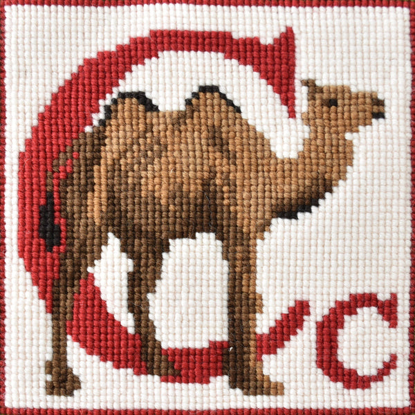 C-Camel Needlepoint Kit Elizabeth Bradley Design