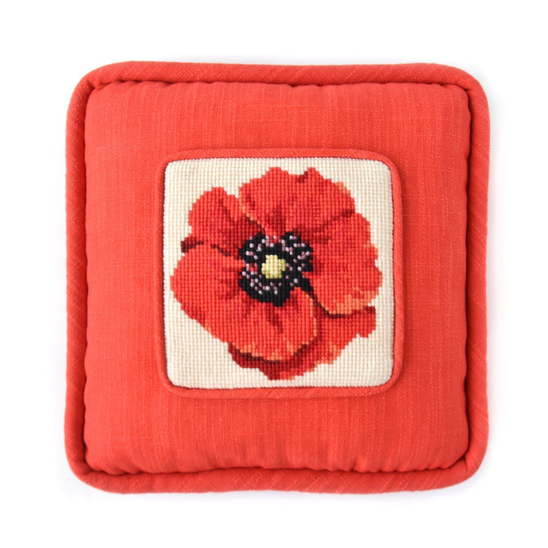 Chelsea Poppy Mini Kit Needlepoint Kit Elizabeth Bradley Design