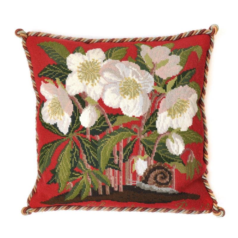 Christmas Rose Needlepoint Kit Elizabeth Bradley Design