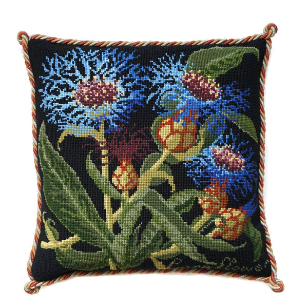 Cornflower Needlepoint Kit Elizabeth Bradley Design