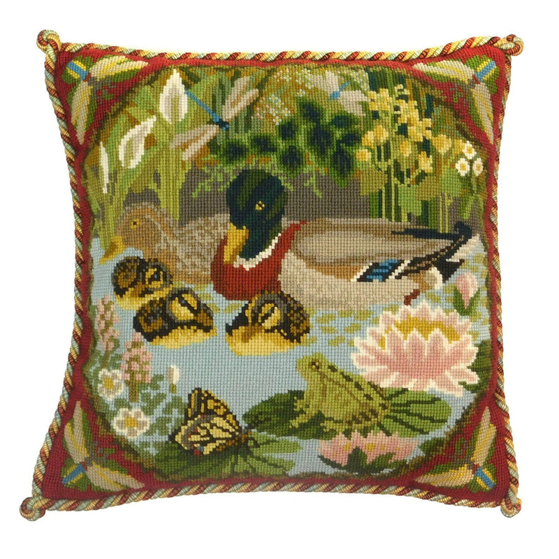 Duck Pond Needlepoint Kit Elizabeth Bradley Design