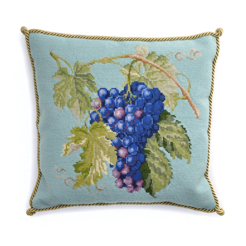 Grapes Needlepoint Kit Elizabeth Bradley Design