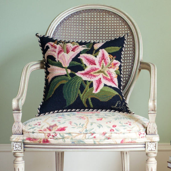 Lily Needlepoint Kit Elizabeth Bradley Design