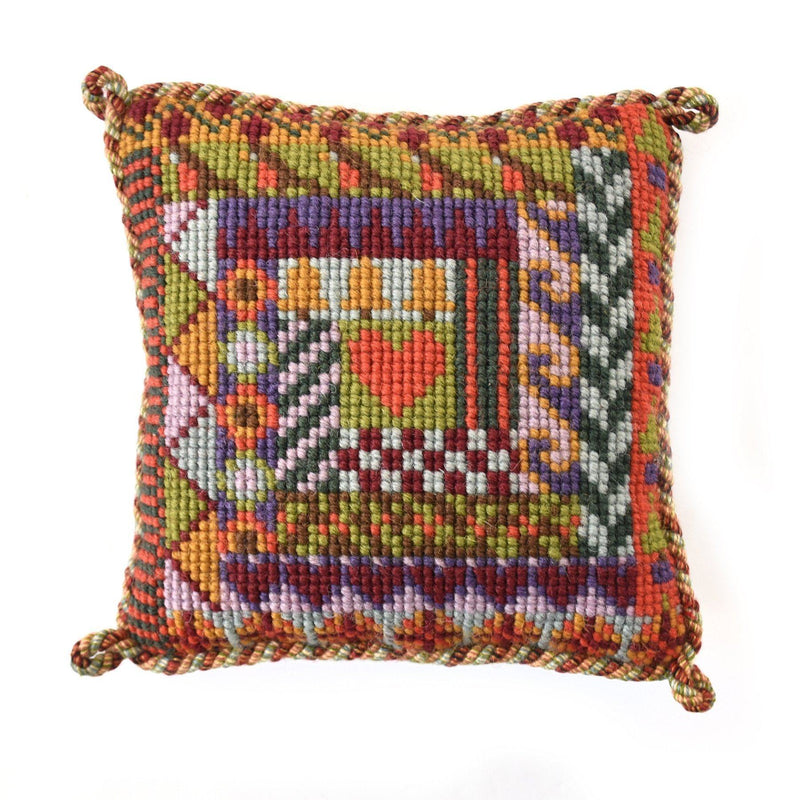 Log Cabin Mini Kit Needlepoint Kit Elizabeth Bradley Design