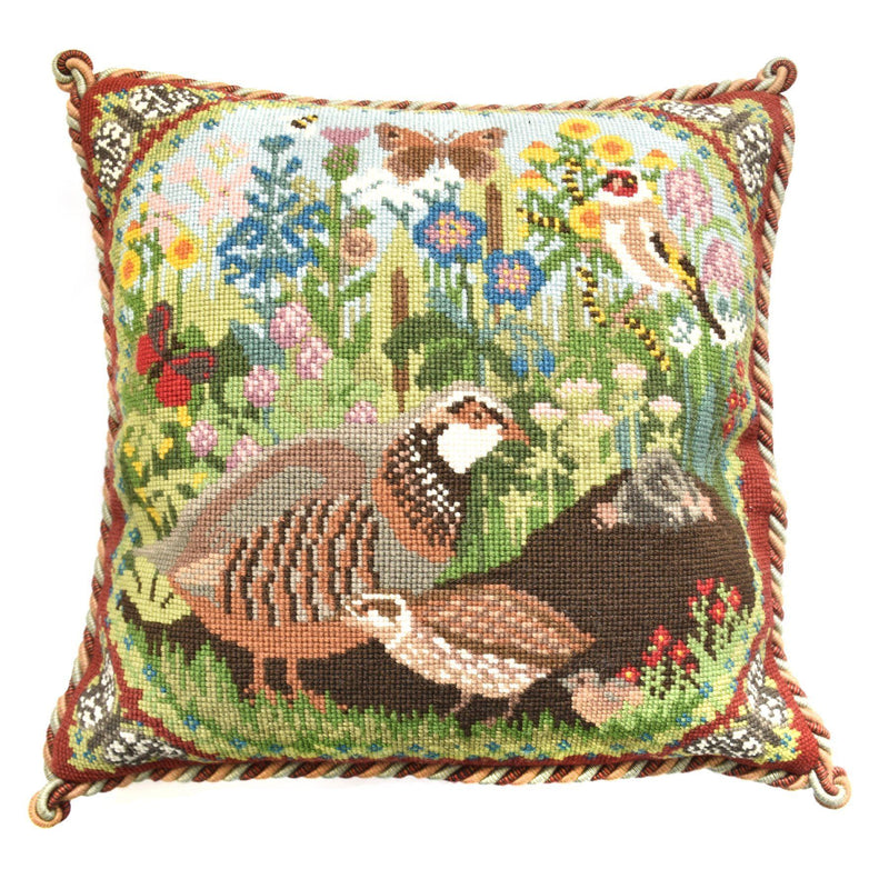 Meadow Needlepoint Kit Elizabeth Bradley Design