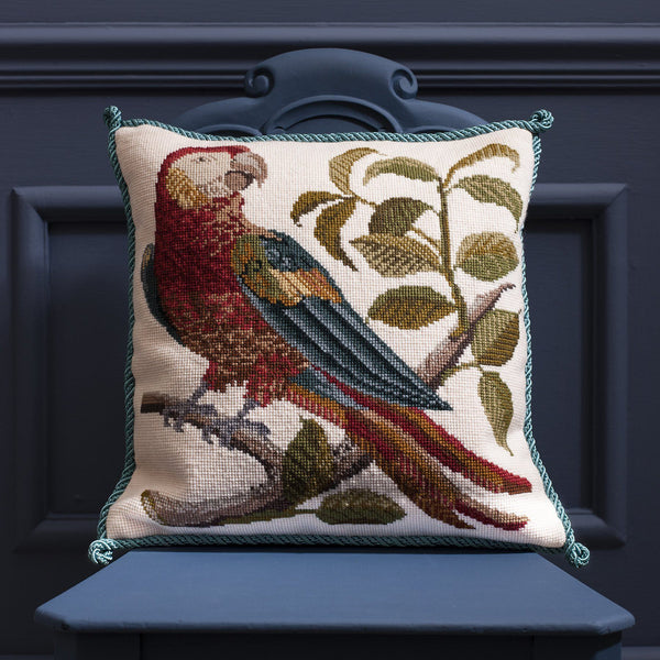 Pete the Parrot Needlepoint Kit Elizabeth Bradley Design
