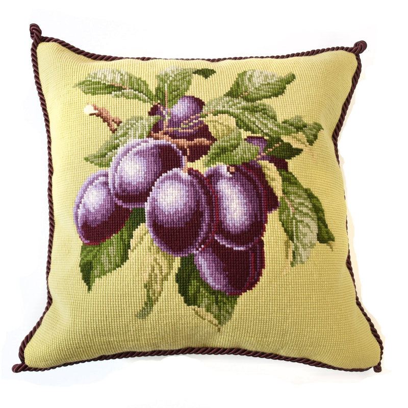 Plums Needlepoint Kit Elizabeth Bradley Design