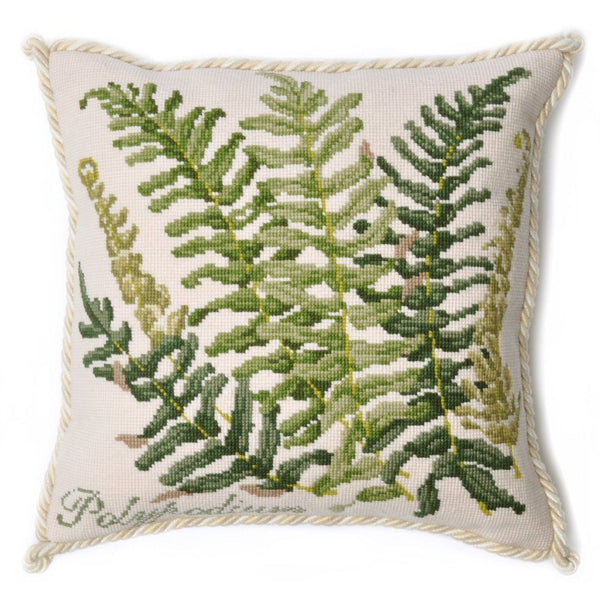 Polypodium Needlepoint Kit Elizabeth Bradley Design