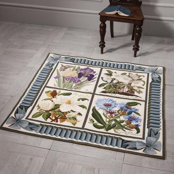 Ribbon and Bow Border Carpet Border Elizabeth Bradley