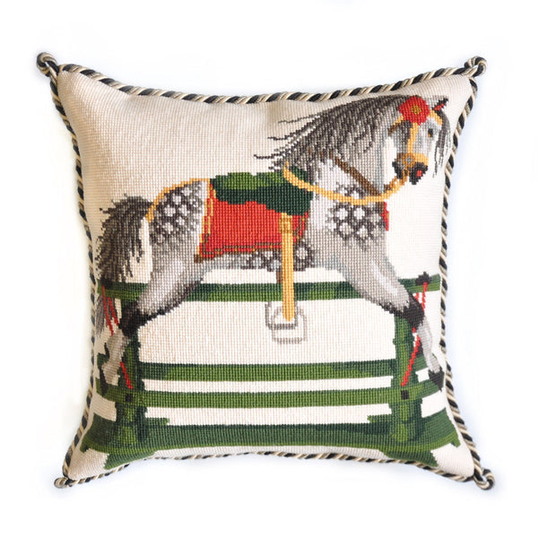Rocking Horse Needlepoint Kit Elizabeth Bradley Design