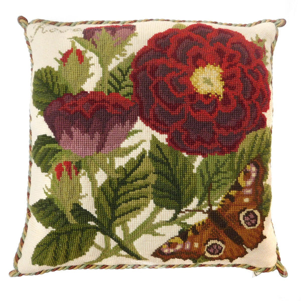 Rose Needlepoint Kit Elizabeth Bradley Design